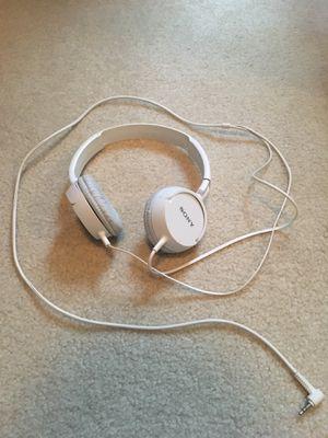 Sony White Headphones for Sale in Centreville, VA
