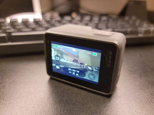 GoPro Hero 7 BLACK + second oem battery
