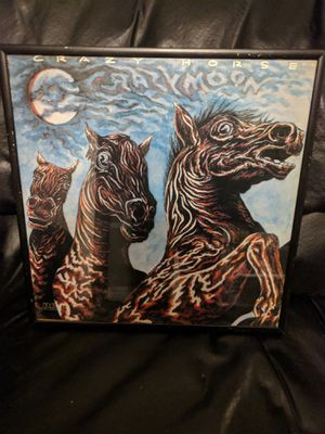 Crazy Horses Crazy Moon Framed Vinyl for Sale in Chicago, IL