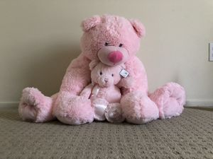 Pink teddy bear 2 for Sale in Aloha, OR