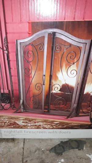 Fire screen with doors for Sale in Rebersburg, PA