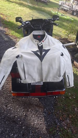 Dainese padded Leather Motorcycle Jacket for Sale in Gary, IN