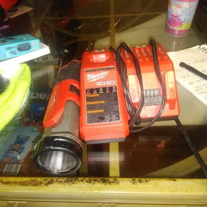 Milwaukee Charger And Flashlight M18 M12 for Sale in Arlington, VA
