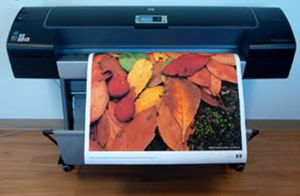 "Commercial printer HP  Designjet LIKE NEW Z3100ps GP 44"" Photo Quality, Large Format, Inkjet Printer for Sale in Virginia Beach, VA"