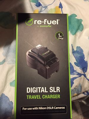 Re fuel Digital SLR Travel Charger for Nikon DSLR Cameras for Sale in San Antonio, TX