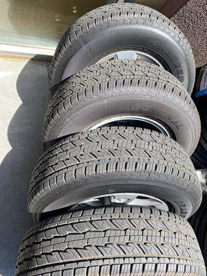Factory GMC Sierra wheels 255/70/17 new $700 for Sale in Lake Elsinore, CA