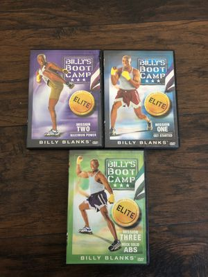 Billy's Bootcamp workout DVDs set of 3 for Sale in San Diego, CA