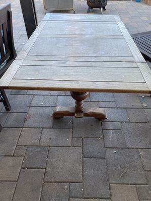 Antique Wood Kitchen Table for Sale in Riverside, CA