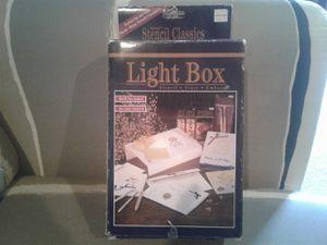 Stencil classics light box for Sale in Longbranch, WA