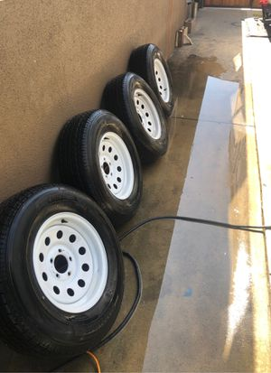Trailer tires st225/75-15 for Sale in Orange, CA
