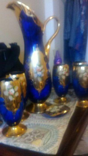 Italian Blue Glass. for Sale in Tampa, FL