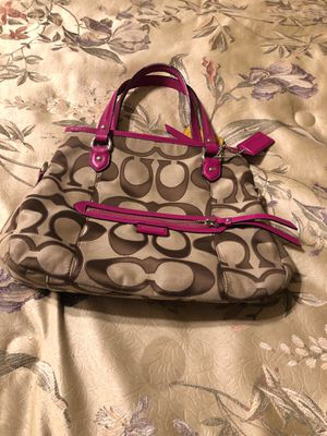 Authentic coach purse. Like new condition for Sale in Antioch, CA