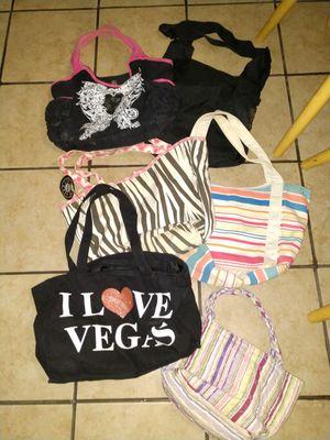 Various totes and wallets makeup bag for Sale in Yuma, AZ