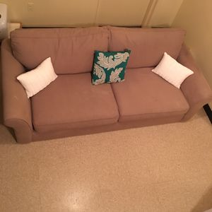 Tan Couch for Sale in Pittsburgh, PA