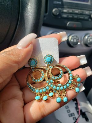 Turquoise earrings for Sale in El Cajon, CA