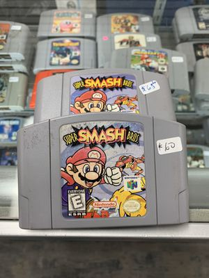 Super smash bros $55 Gamehogs 11am-7pm for Sale in Commerce, CA