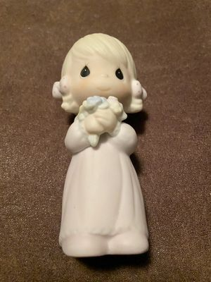 Precious Moments Wedding Bridal Bridesmaid Porcelain Figurine 5 inches tall Enesco E-2831 in Original Box for Sale in Gilbert, AZ