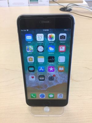 iPhone 6s Plus 128GB Space Gray - Unlocked for Sale in Henderson, NV
