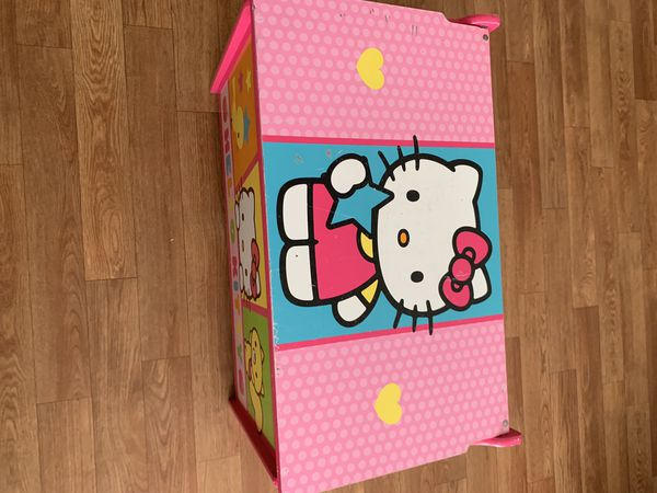 Hello Kitty toy chest