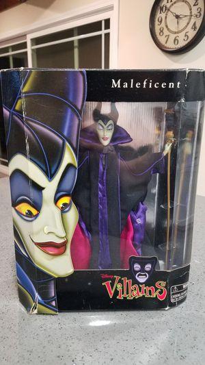 Maleficent Disney Villians Doll for Sale in Covina, CA