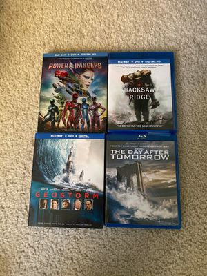 Blu Ray + DVD Combo for sale. $6 ea. for Sale in Denver, CO