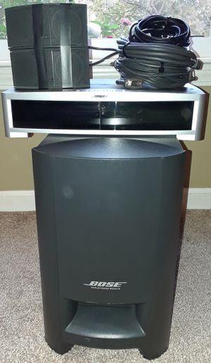 Bose 3-2-1 powered subwoofer surround sound for Sale in Belleville, MI