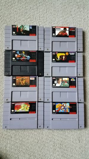 Super Nintendo games (SNES) for Sale in Grapevine, TX