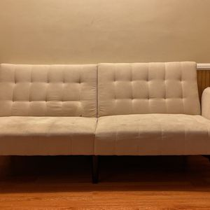 White Folding Couch for Sale in Los Angeles, CA