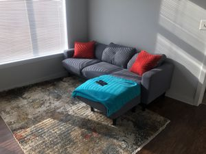 Gray sectional couch for Sale in Jessup, MD