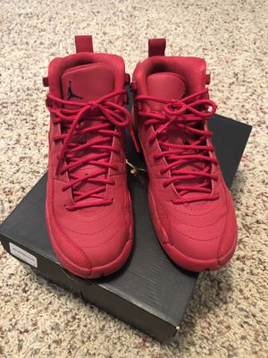 """Jordan 12 """"Gym Red"""" for Sale in E FAYETTEVLLE, NC"""