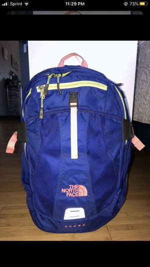 The North Face backpack (blue) for Sale in San Jose, CA