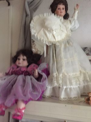 Beautiful porcelain dolls, name your price for Sale in Seattle, WA