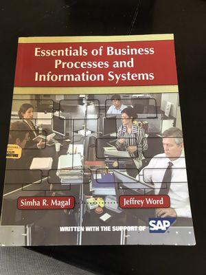 Essentials of business processes and information systems for Sale in Pinole, CA