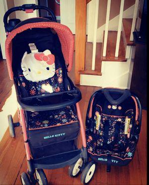 Hello kitty travel system for Sale in Wyandotte, MI