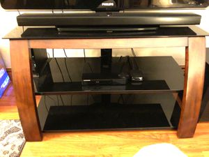 Wood and Glass TV Stand for Sale in Miami, FL