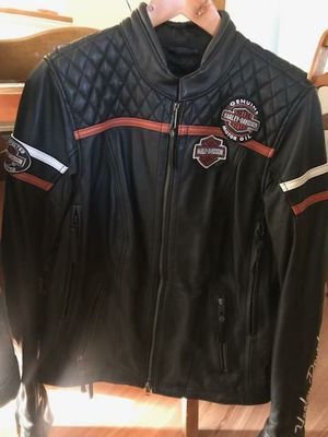 Harley Davidson Womens Riding Jacket and denim vest medium for Sale in Sykesville, MD
