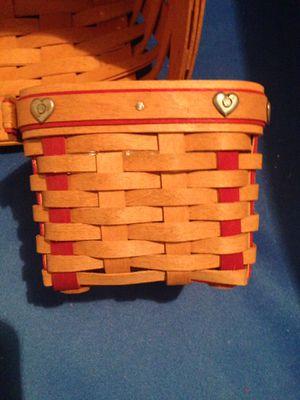 Longaberger Basket Handmade in USA for Sale in Haltom City, TX