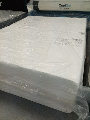 12 in green tea memory foam mattress 50 down same day delivery all sizes for Sale in Columbus, OH
