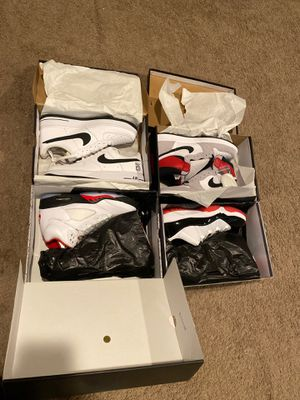 DEADSTOCK JORDANS AND AIR FORCES for Sale in Greenville, NY