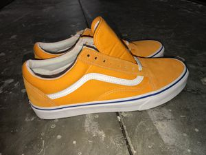 Yellow Vans Old Skools Mens 10 for Sale in Land O Lakes, FL