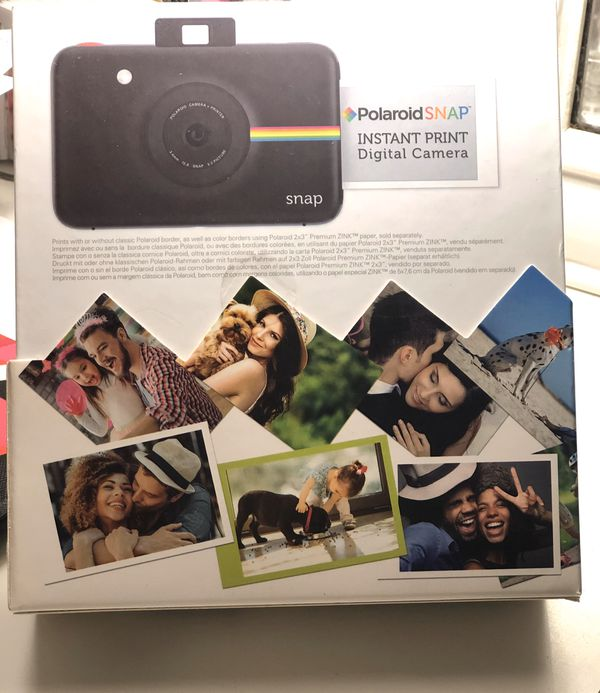 Polaroid Snap Touch Instant Digital Camera in White