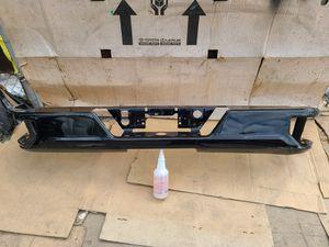 2019 - 2020 Chevy Silverado Bumper Rear oem ( black color painted) for Sale in Los Angeles, CA