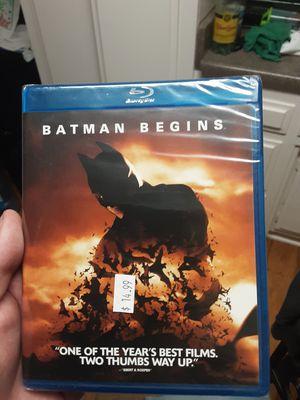 Batman Begins Blu-ray movie brand new for Sale in Santa Ana, CA