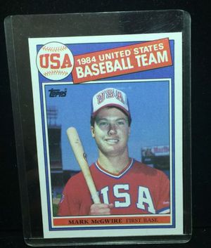 1985 Topps Mark McGwire Rookie for Sale in Hayward, CA