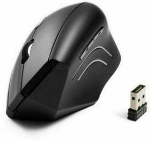 Anker 2.4G Wireless Vertical Ergonomic Optical Mouse, 800 / 1200 /1600 DPI, 5 Buttons for Laptop, Desktop, PC, Macbook - Black for Sale in Fontana, CA