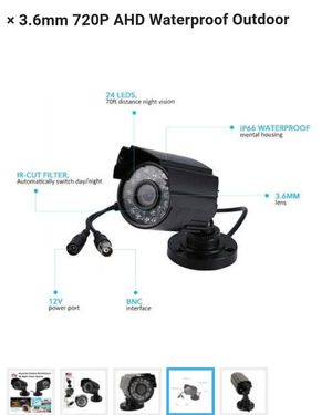 Security camera with night vision for Sale in Tulsa, OK