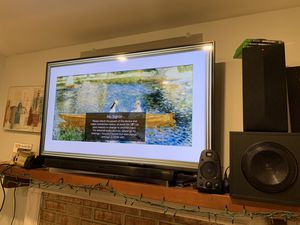 LG TV 55in with sound bar for Sale in Woodbridge, VA