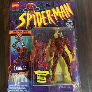 1994 Marvel Spider-Man TAS Carnage Action Figure for Sale in Los Banos, CA