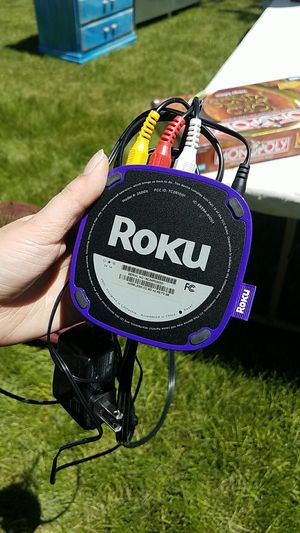 Roku player (missing remote... discounted price.) for Sale in Millcreek, UT