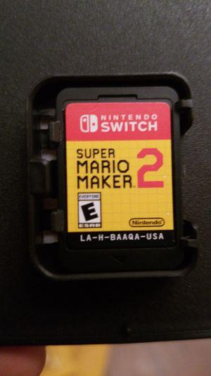 Super Mario Maker 2 Nintendo Switch for Sale in Houston, TX